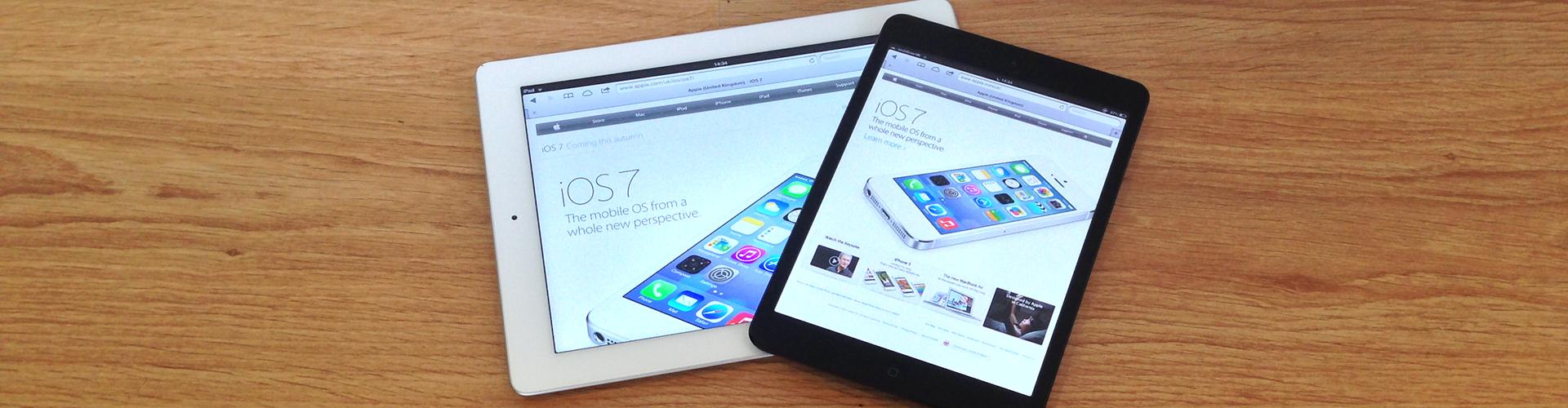 iPad Retina & iPad Mini