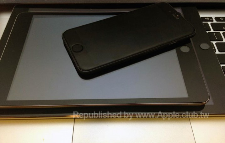 iPhone 6, iPad Air 2 and iPad Mini 3 Leaked Images