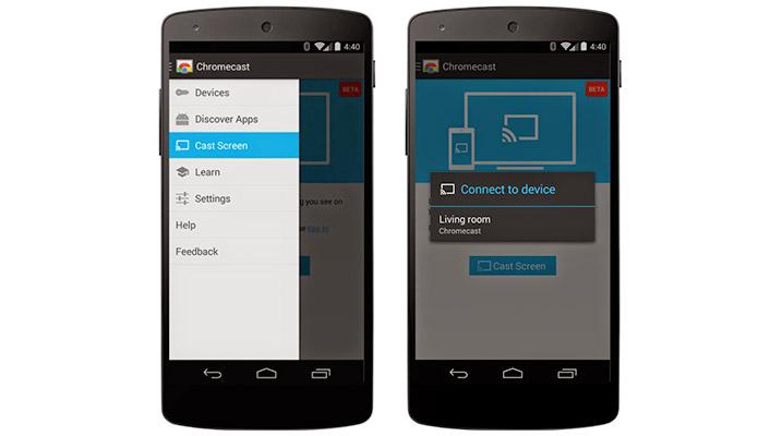 Chromecast-Mirror-Android