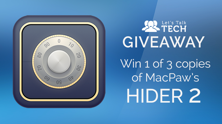 [Closed] August Mac App Giveaway: Win 1 of 3 copies of MacPaw's Hider 2