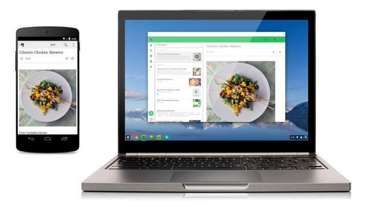 The First Four Android Apps Hit Chromebooks