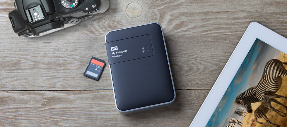 WD Launches My Passport Wireless: A Wireless Hard Drive With Up To 2TB Of Storage