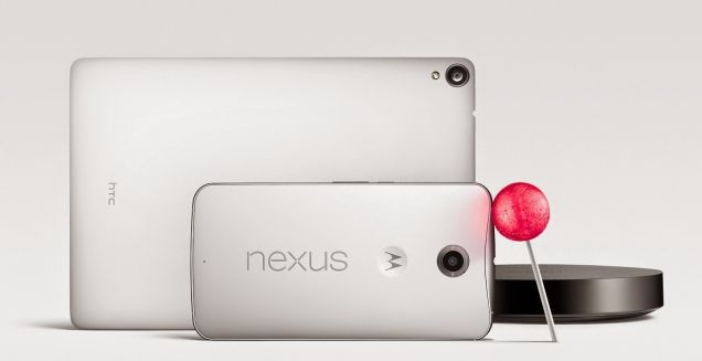 Google's Nexus 6 Smartphone and Nexus 9 Tablet are Official!