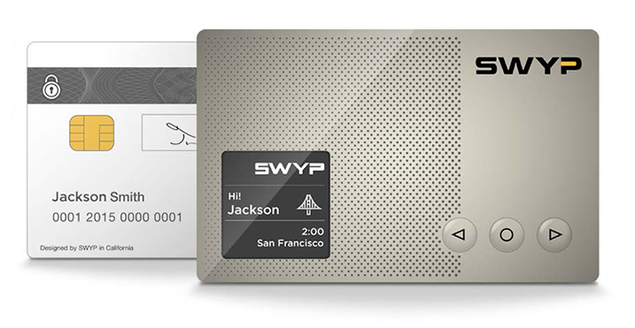 SWYP, The All-In-One Digital Credit Card