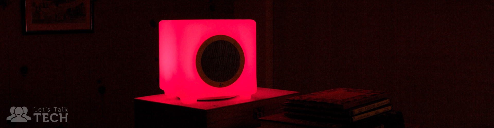 Kitsound Glow Speaker Review: Funky Colours, Lacklustre Build Quality