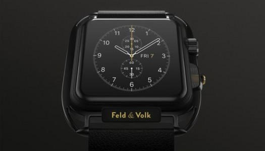 Feld and Volk Unveil Custom Carbon Apple Watch