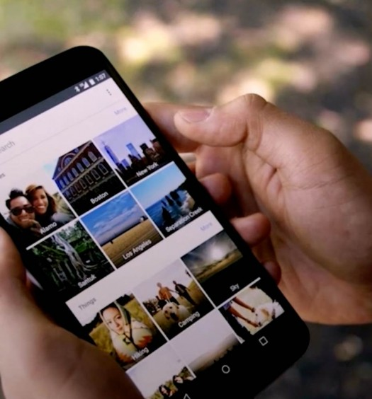 Google Photos backups banner