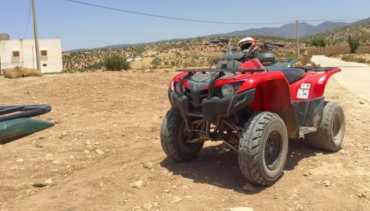 Quad Biking With The Kitvision Edge HD30W Action Cam