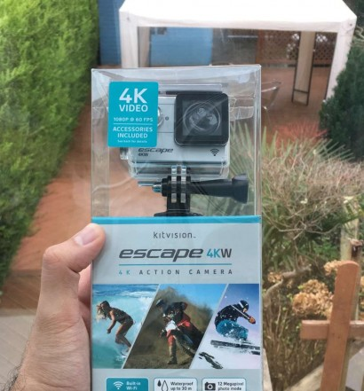 KitVision 4KW Action Cam