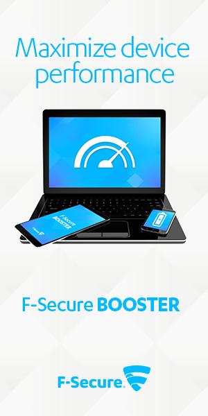 Sponsor: F-Secure Booster