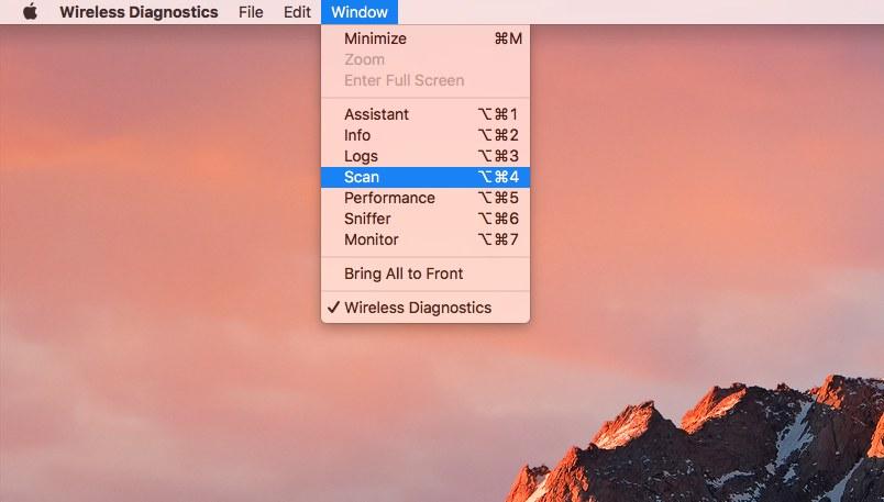 how to see wifi data usage mac osx