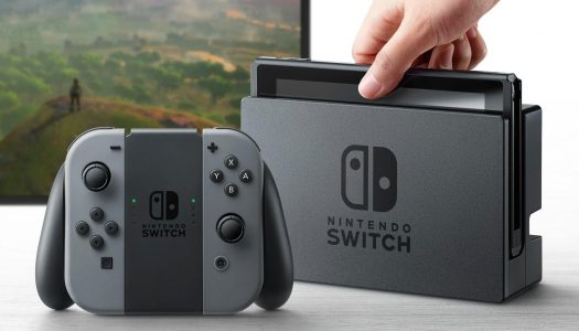 Nintendo's Switch console is a mashup of home & portable gaming