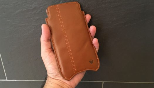 NueVue leather sleeve wipes fingerprints off your iPhone 7 & 7 Plus