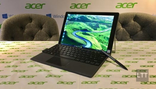 Hands-on with Acer's Switch Alpha 12, 2-in-1 laptop