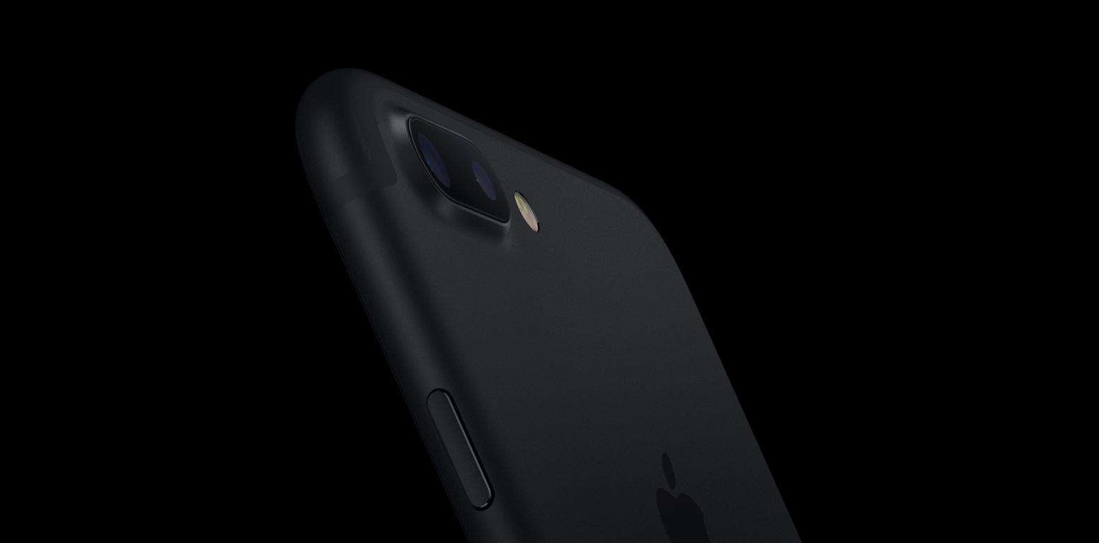 Apple's iPhone 7 in Black